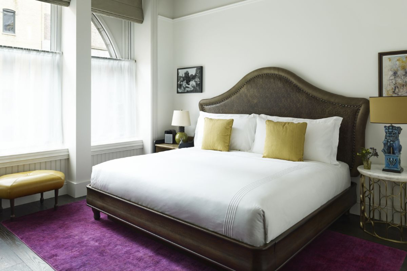 Beekman Hotel – Step Inside This Luxury Hotel In New York City beekman hotel Beekman Hotel – Step Inside This Luxury Hotel In New York City The Beekman Superior King Bed2 CRPD1200x800 1