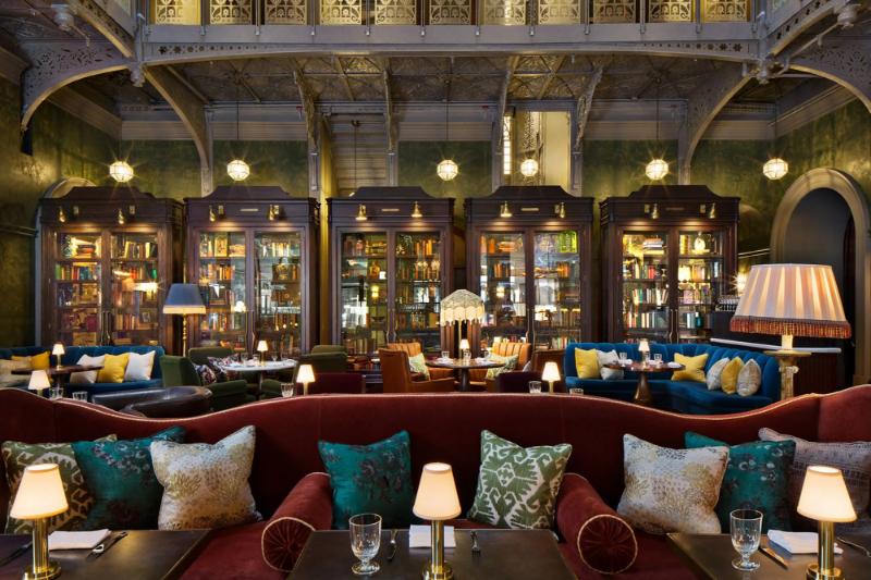 Beekman Hotel – Step Inside This Luxury Hotel In New York City beekman hotel Beekman Hotel – Step Inside This Luxury Hotel In New York City ahead martin brudnizki beekman hotel5 1