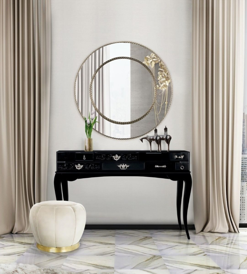 Elegance In The Master Bedroom - 10 Luxury Console Tables luxury console table Elegance In The Master Bedroom – 10 Luxury Console Tables 118810255 211317653674985 6702677547655960559 n 1