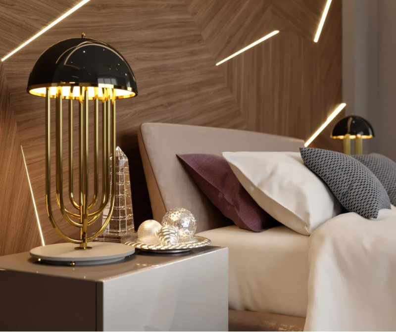 Elegant Table Lamps To Make Your Bedside Table Look Even More Stylish table lamp Elegant Table Lamps To Make Your Bedside Table Look Even More Stylish 6 1 1