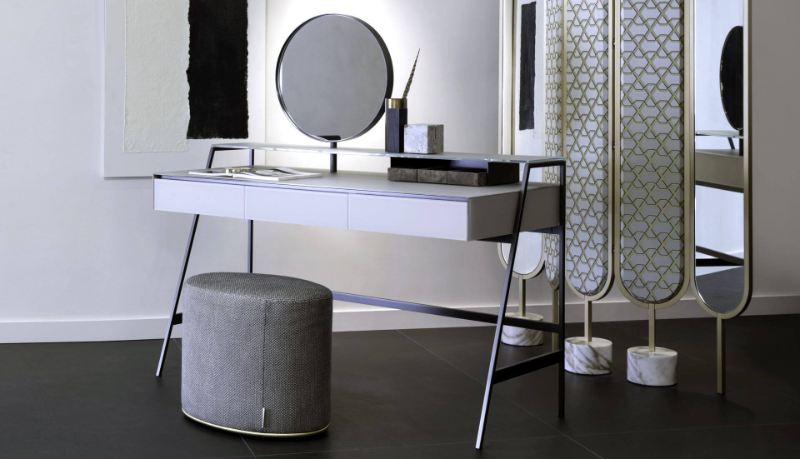 50 Decor Ideas To Achieve A Marvelous Bedroom Design bedroom design Trend Report! 50 Decor Ideas For Your Modern Bedroom Design Gallotti Radice Venere Dressing Table EBO 0001 1