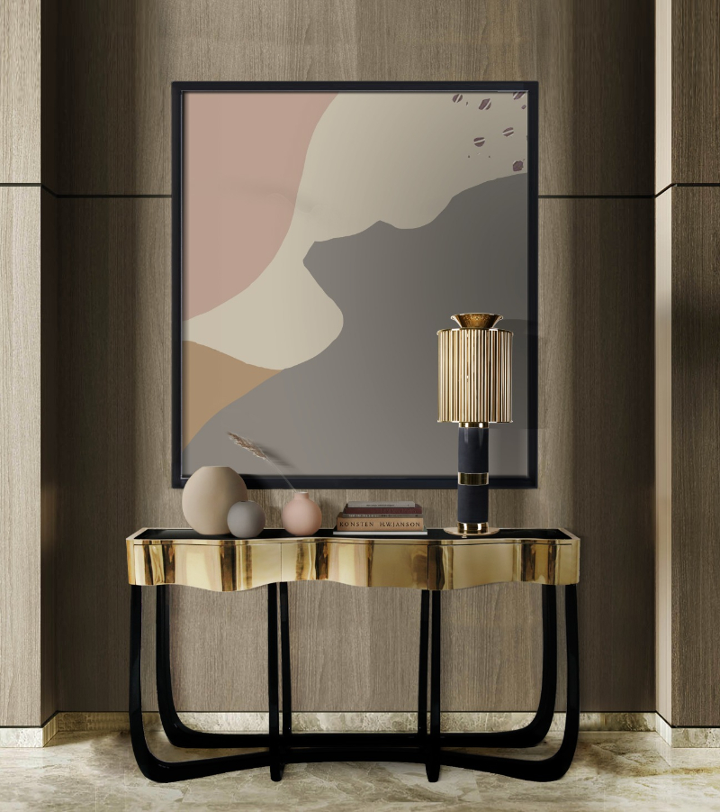 Elegance In The Master Bedroom - 10 Luxury Console Tables