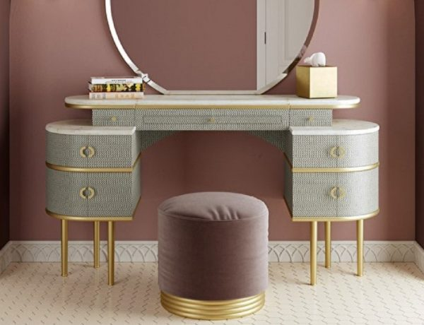 A Selection Of Dressing Tables That Will Catch All The Attention dressing table A Selection Of Dressing Tables That Will Catch All The Attention devon devon zelda vanity table 2 600x460