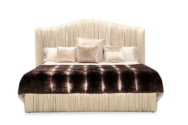 The Most Beautiful Beds For A Impressive Bedroom Design bedroom design The Most Beautiful Beds For A Impressive Bedroom Design plisse bed 1 1