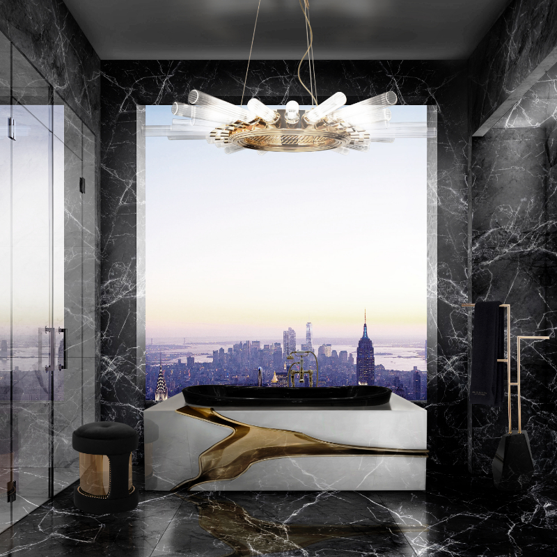 Elevate Your Master Bedroom – Luxury Bathtubs That Will Steal The Show luxury bathtubs Luxury Bathtubs With Extraordinary Designs 124 1 1
