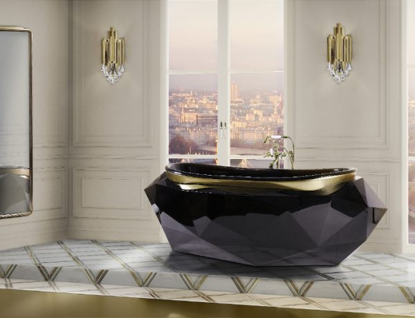 Elevate Your Master Bedroom – Luxury Bathtubs That Will Steal The Show luxury bathtub Elevate Your Master Bedroom – Luxury Bathtubs That Will Steal The Show 24 diamond bathtub colosseum wall display HR 2 600x460