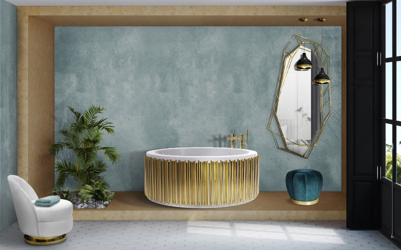 Elevate Your Master Bedroom – Luxury Bathtubs That Will Steal The Show luxury bathtubs Luxury Bathtubs With Extraordinary Designs 57 symphony ambience 1 HR 1