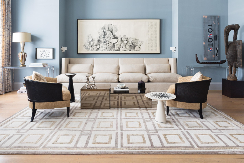 The Best Luxury Rugs For A Stunning Bedroom Design luxury rug The Best Luxury Rugs For A Stunning Bedroom Design DC SN MADISON R LAND master 1