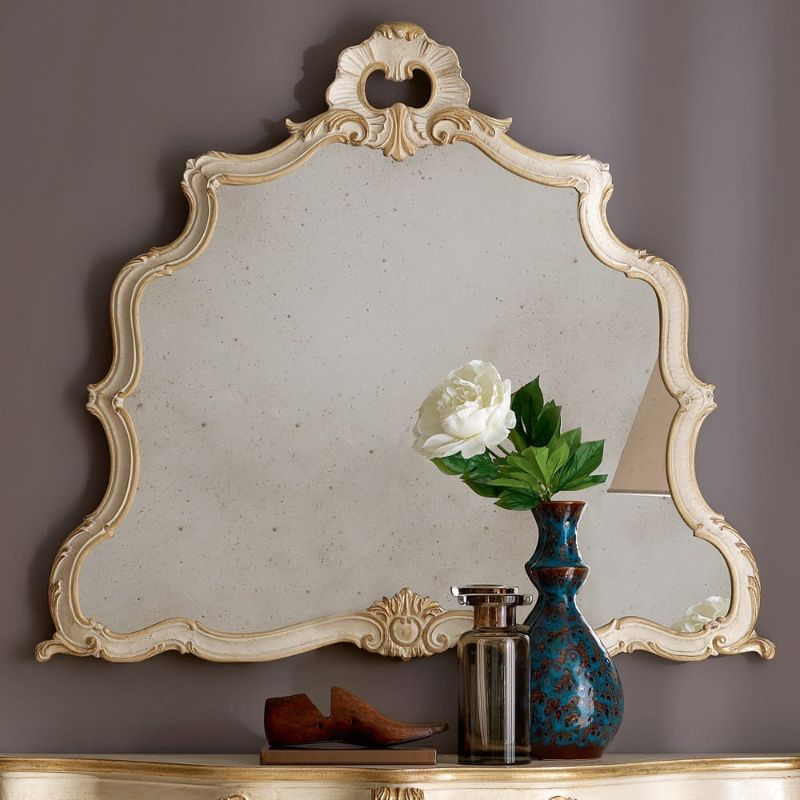 20 Charming Luxury Mirrors To Enhance Your Bedroom Design luxury mirror 20 Charming Luxury Mirrors To Enhance Your Bedroom Design Exclusive Designer Italian Baroque Inspired Wall Mirror 1