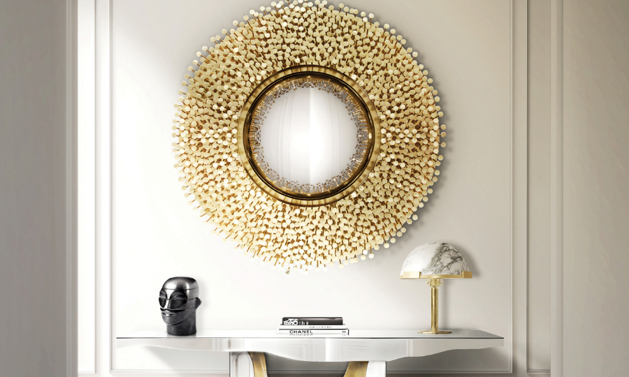 20 Charming Luxury Mirrors To Enhance Your Bedroom Design luxury mirror 20 Charming Luxury Mirrors To Enhance Your Bedroom Design FT MBI 2