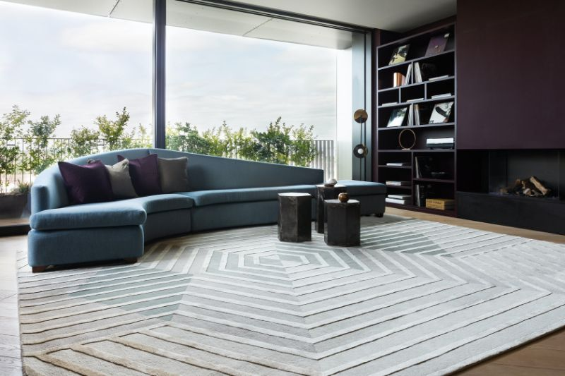 The Best Luxury Rugs For A Stunning Bedroom Design luxury rug The Best Luxury Rugs For A Stunning Bedroom Design Lounge Rugs Top 10 Modern and Contemporary Amazing Handmade Rugs 7