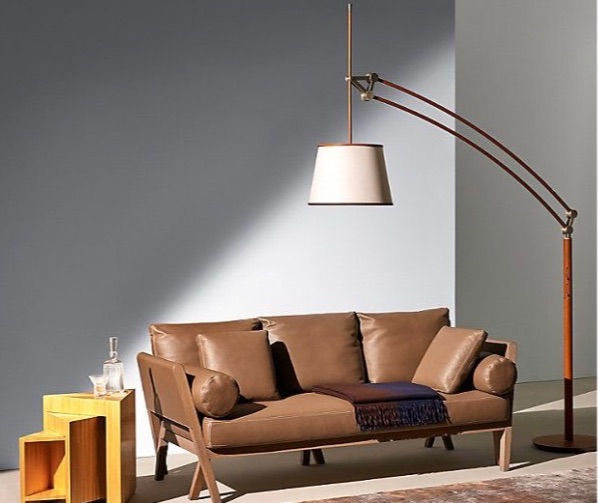 20 Floor Lamps That Will Transform Your Space floor lamp 20 Floor Lamps That Will Transform Your Space Pantographe Arc 1