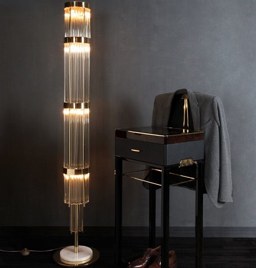 20 Floor Lamps That Will Transform Your Space floor lamp 20 Floor Lamps That Will Transform Your Space Pharo 1