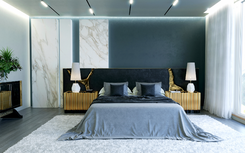 20 Amazing Luxury Beds For Your Opulent Home luxury bed 20 Amazing Luxury Beds For Your Opulent Home lapiaz black headboard 06 2