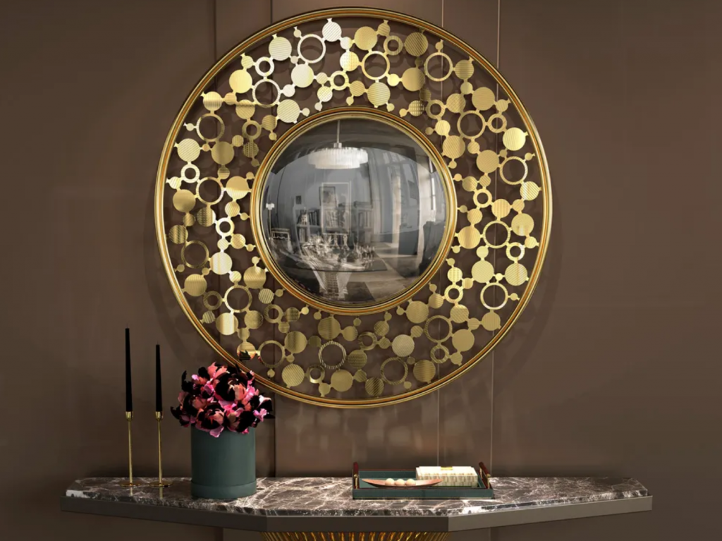 20 Luxury Mirrors That You'll Love luxury mirror 20 Luxury Mirrors That You'll Love Circles Design by Juliettes 1024x767