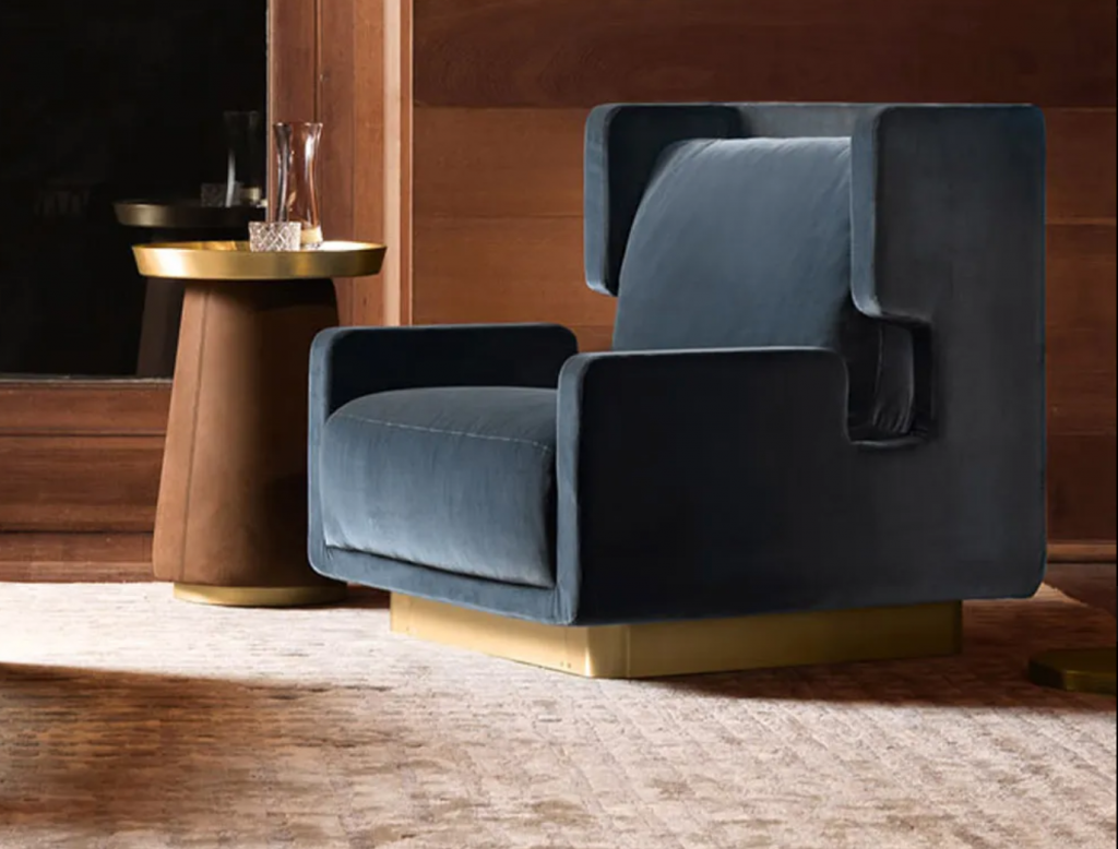 20 Luxury Armchairs to Add To Your Bedroom luxury armchair 20 Luxury Armchairs to Add To Your Bedroom Modern Retro 1024x778