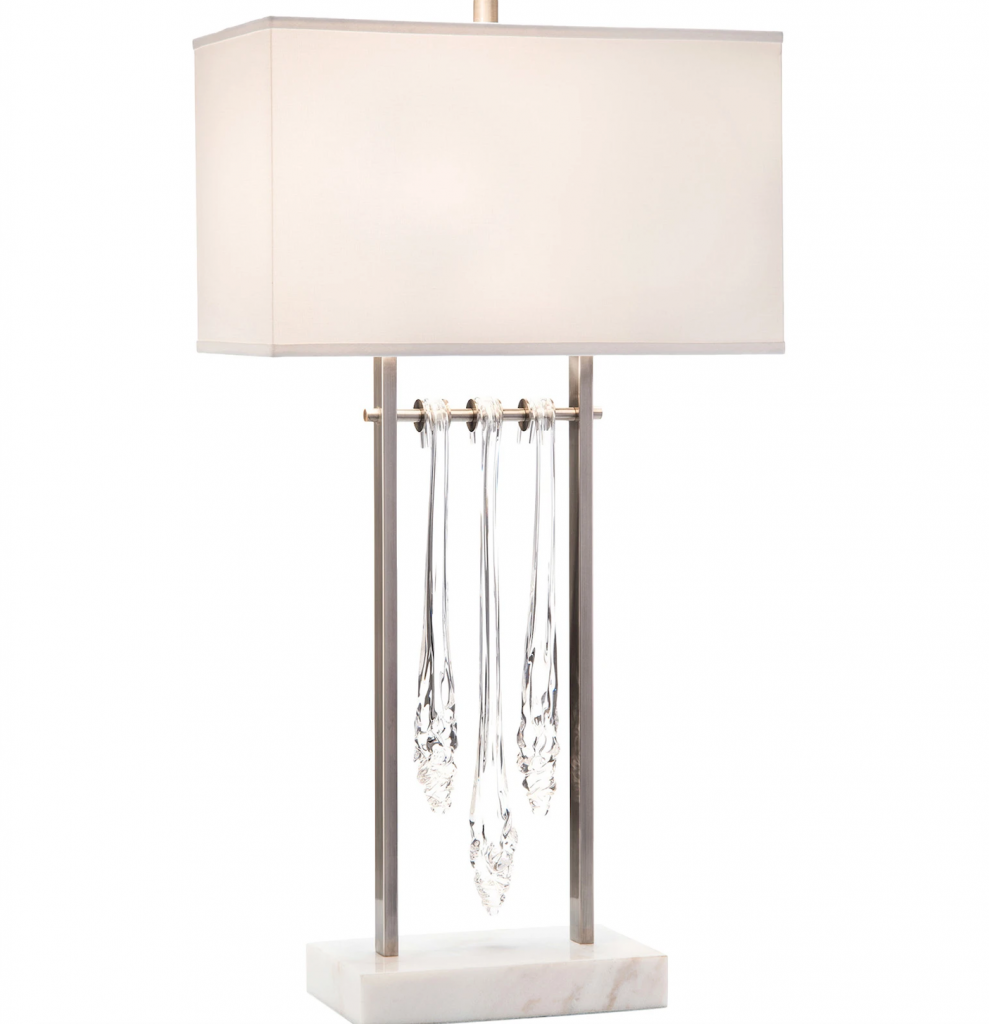20 White Table Lamps For Your Home white table lamp 20 White Table Lamps For Your Home glas drop 989x1024