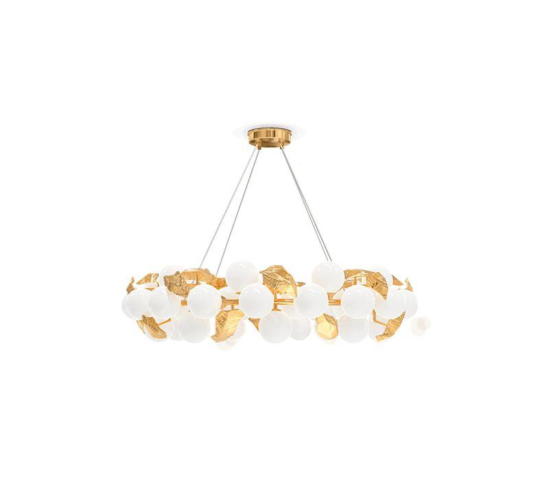 modern lighting 10 Gold Modern Lighting For Your Bedroom – Spark Your Inspiration! hera round i suspension lamp 01 boca do lobo
