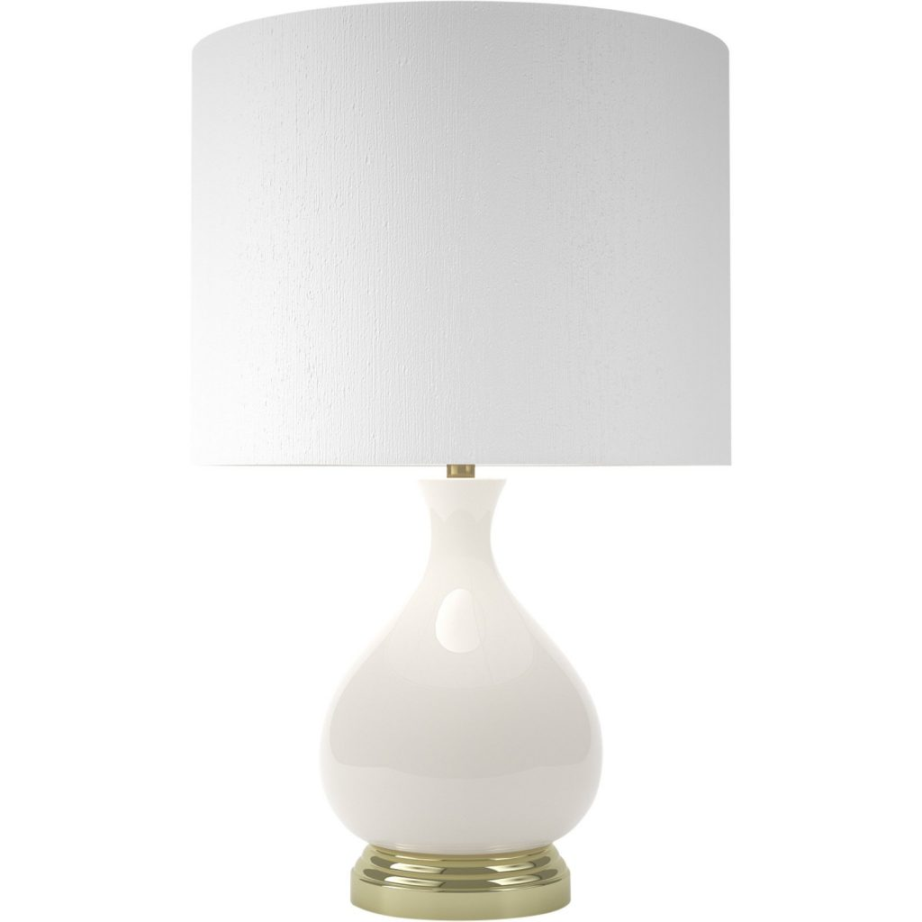 20 White Table Lamps For Your Home white table lamp 20 White Table Lamps For Your Home ivory and brass buckinghan 2 1024x1024