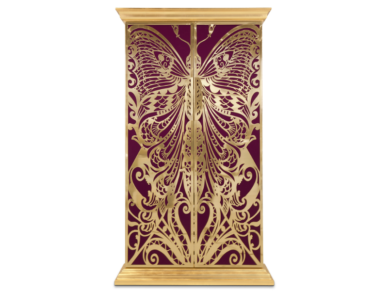 20 Colorful Luxury Cabinets To Upscale Your Bedroom