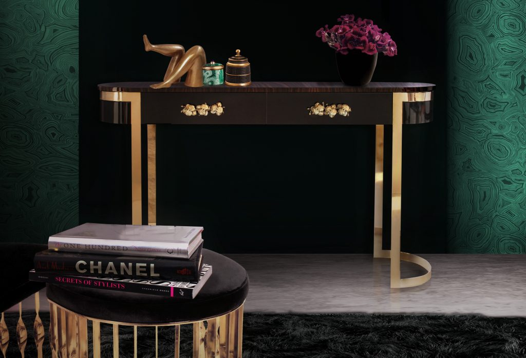 20 Luxury Consoles To Upscale Your Room luxury console 20 Luxury Consoles To Upscale Your Room orchidea console 1024x698