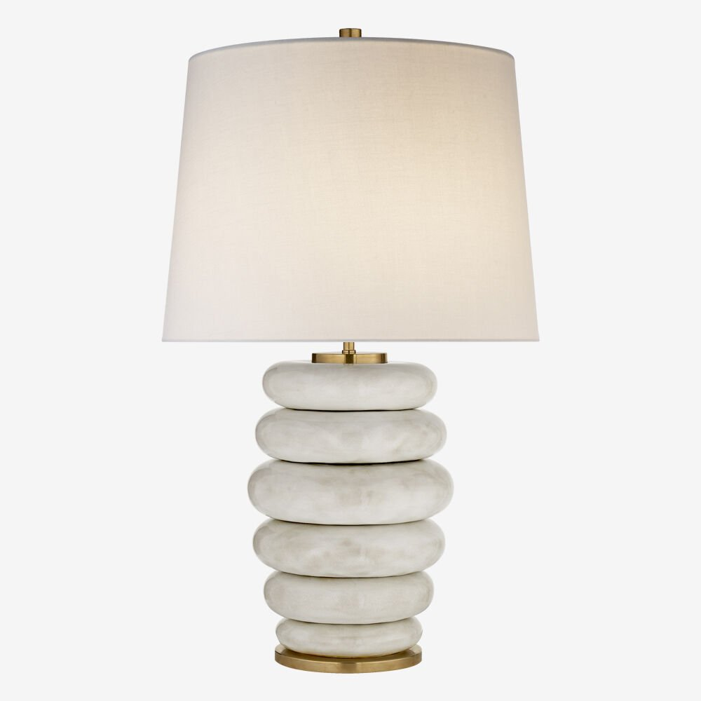 20 White Table Lamps For Your Home white table lamp 20 White Table Lamps For Your Home phoebe 2
