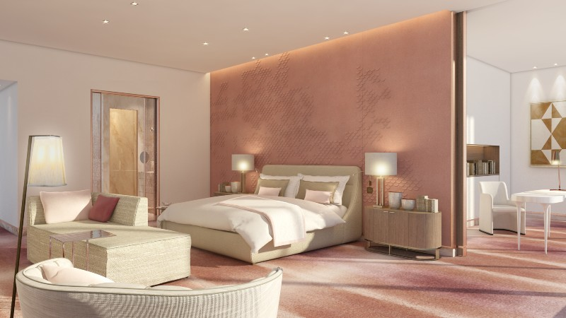 sybille de margerie Sybille De Margerie: Mastering Luxury Interiors 16 SMD 3DBED BED COPPER REV 03