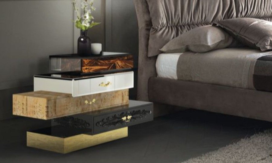 luxury nightstands Luxury Nightstands By Boca do Lobo To Upscale Your Room Check Our Bedroom Design Selection co  pia 3 2