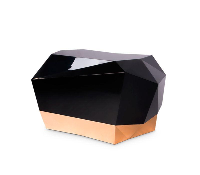 luxury nightstands Luxury Nightstands By Boca do Lobo To Upscale Your Room diamond nightstand 02 boca do lobo