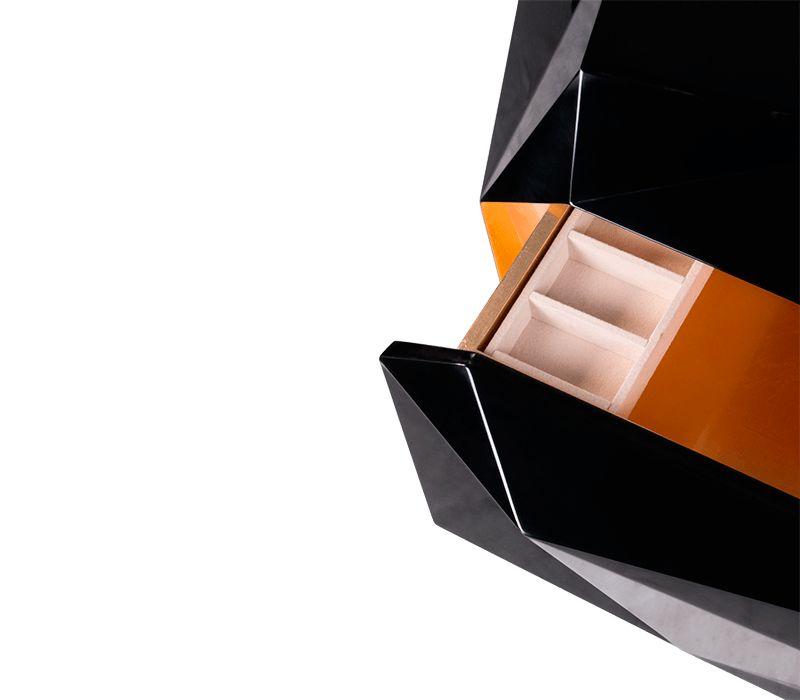 luxury nightstands Luxury Nightstands By Boca do Lobo To Upscale Your Room diamond nightstand 04 boca do lobo