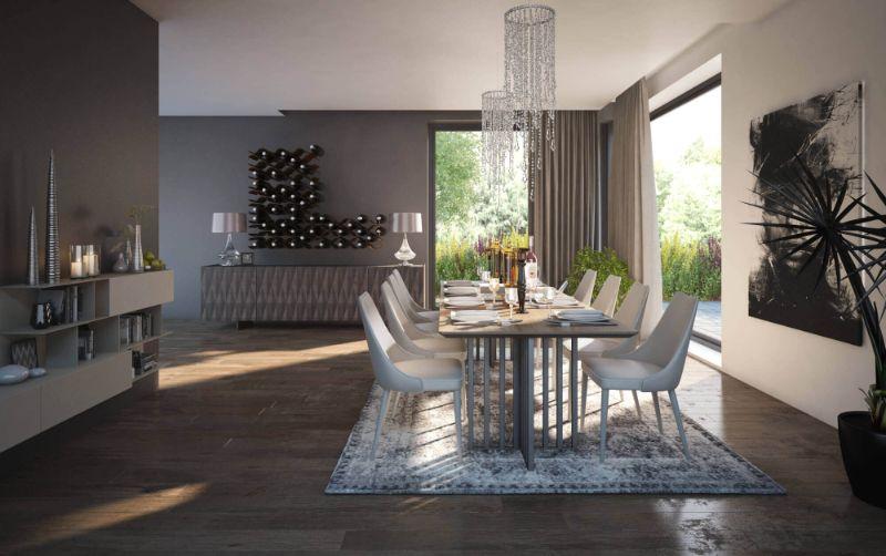 lemon interior design Amazing Interior Design Projects By Lemon Interior Design dining fin new rug