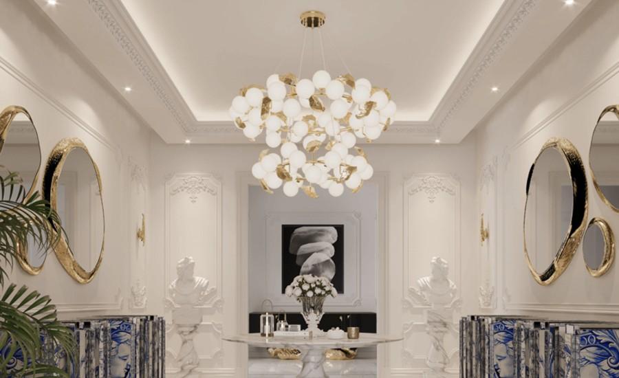 luxury suspension lamp Luxury Suspension Lamps For Your Bedroom hera round ii suspension lamp 03 boca do lobo 1