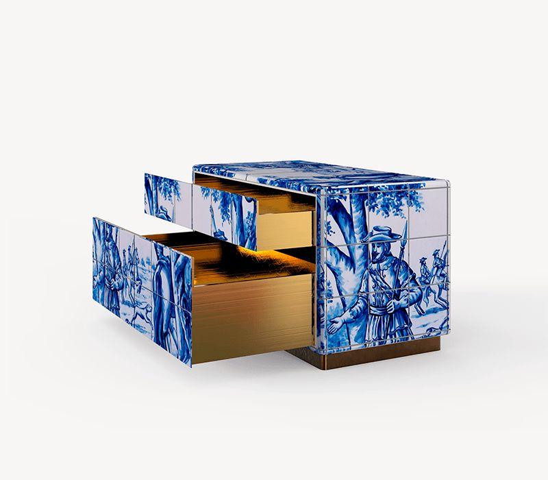 luxury nightstands Luxury Nightstands By Boca do Lobo To Upscale Your Room heritage nightstand 03 boca do lobo