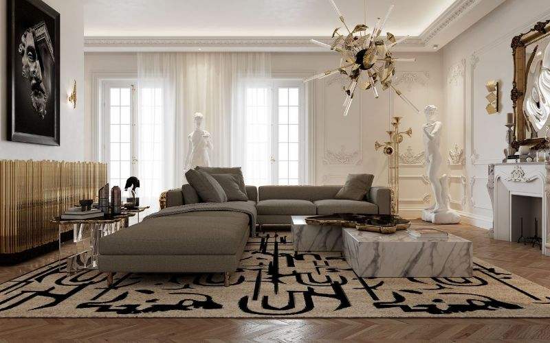luxury sofas Luxury Sofas For An Opulent Bedroom imp modeular