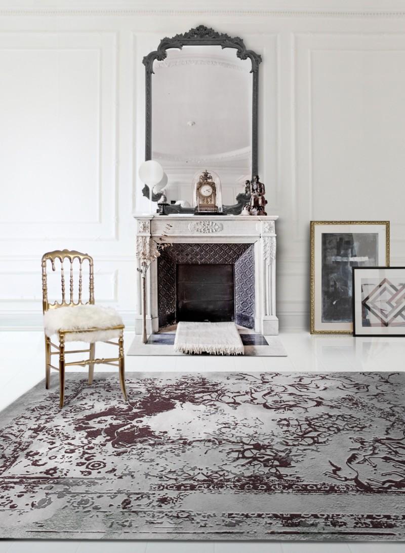 luxury rug Luxury Rugs For Your Imposing Master Bedroom posidon rug emporium chair 1