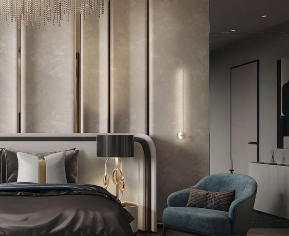 neutral bedrooms Neutral Bedrooms Trends For A Modern Bedroom Designs 1aa2048c6564e722499be50d9f9c7efb 563x460