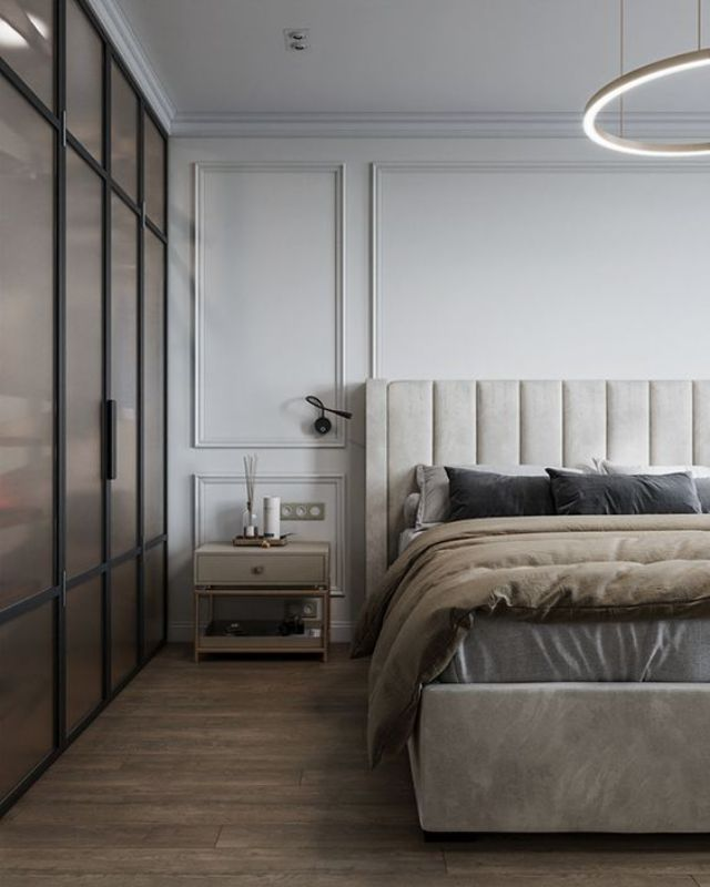 neutral bedrooms Neutral Bedrooms Trends For A Modern Bedroom Designs 98c3a5ffee49a1d686f91a517ef628b8