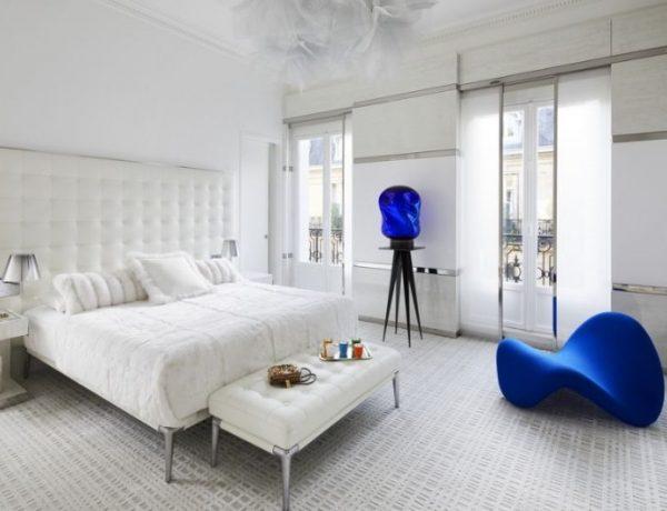 stéphanie coutas Stéphanie Coutas Luxury Bedroom Creative Ideas An Exquisite Parisian Apartment by Stephanie Coutas 7 1 1 600x460