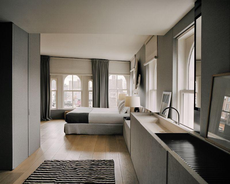 Vincent Van Duysen Minimalist Bedroom vincent van duysen Vincent Van Duysen Minimalist Bedroom VVDA 2018 MONOGRAPH HH Penthouse 07 Francois Halard RGB 1