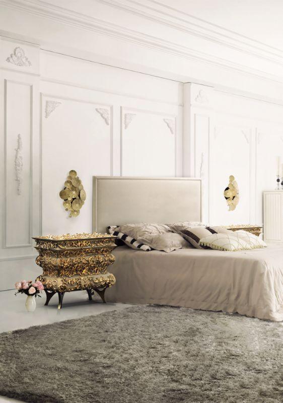 neutral bedrooms Neutral Bedrooms Trends For A Modern Bedroom Designs crochet bedside 1