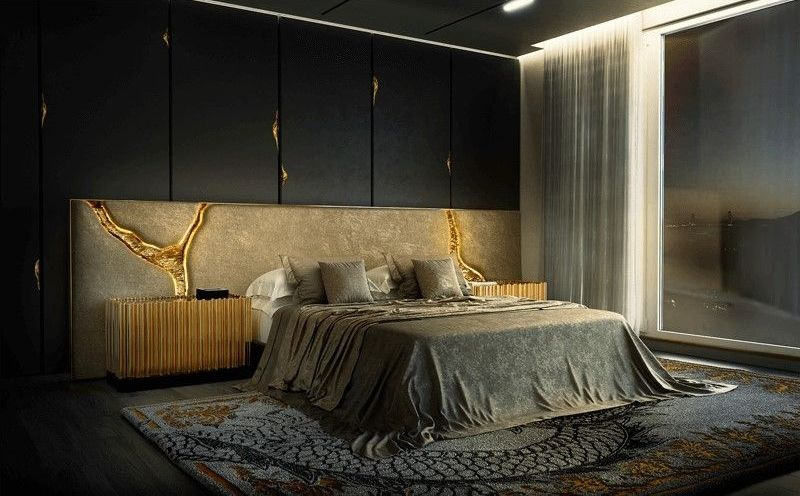luxury nightstand Luxury Nightstand By Boca Do Lobo To Elevate Your Bedroom Design lapiaz white headboard 04 boca do lobo 1 1