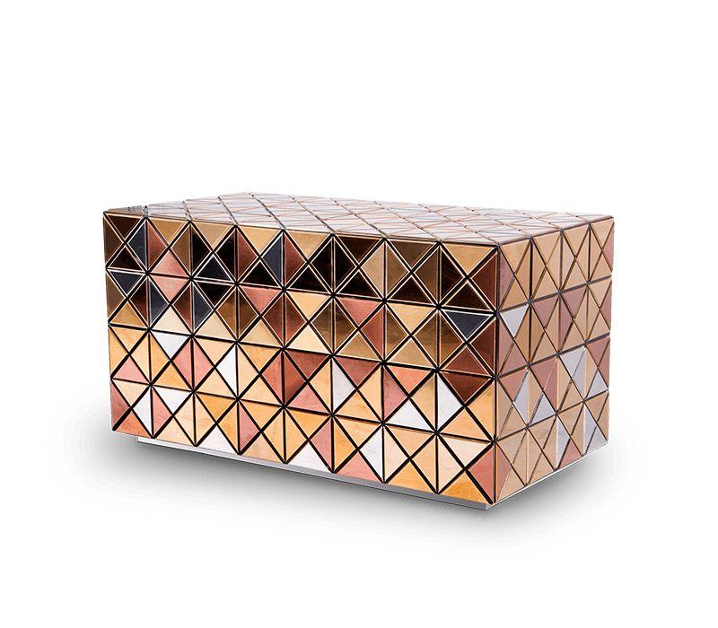 luxury nightstand Luxury Nightstand By Boca Do Lobo To Elevate Your Bedroom Design pixel nightstand 02 boca do lobo