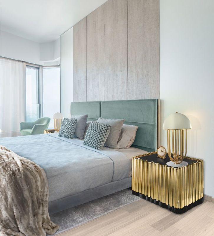 luxury nightstand Luxury Nightstand By Boca Do Lobo To Elevate Your Bedroom Design symphony nightstand 1