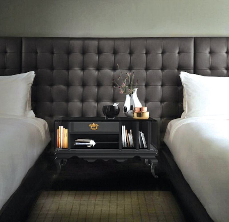 luxury nightstand Luxury Nightstand By Boca Do Lobo To Elevate Your Bedroom Design tower nightstand 2