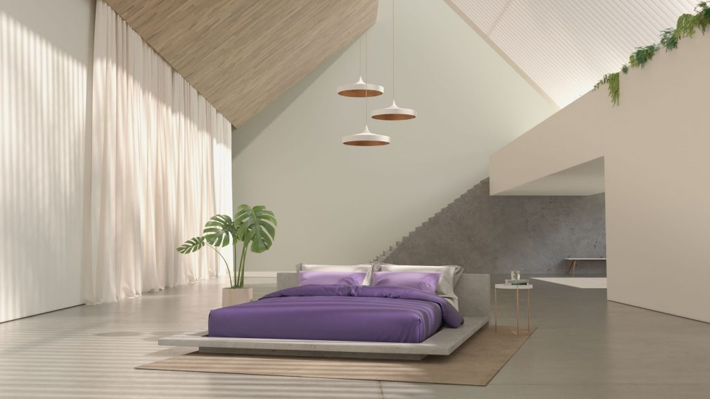 How to Turn Your Bedroom into a Comfort Zone bedroom How to Turn Your Bedroom into a Comfort Zone Purple Stills 191213 00010 1 1024x576