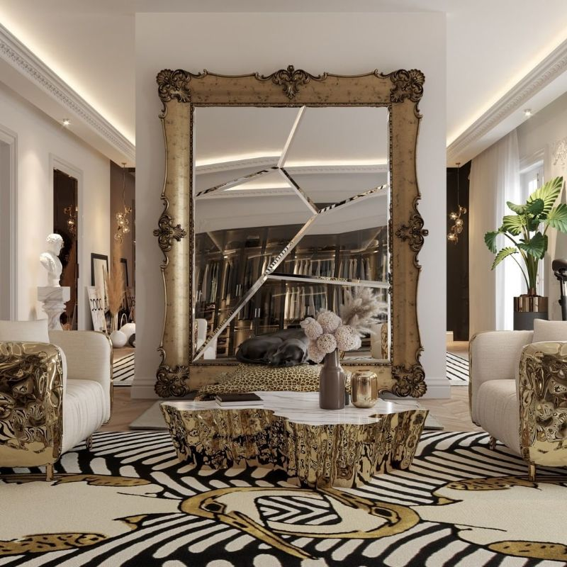 walk in closet Walk In Closet Ideas For Your Master Bedroom bl dinis big mirror 1