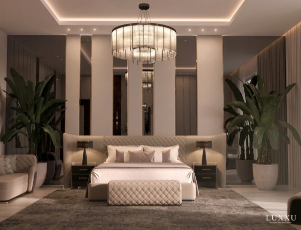 neutral master bedroom Neutral Master Bedroom Design For Your Luxury Home covet house bedroom inspiration 1 600x460