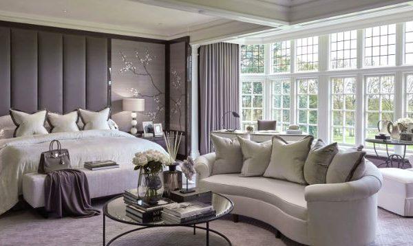 bedrooms Bedrooms by Top Interior Designers: Louise Bradley large gallery 24 177 1 1 600x358