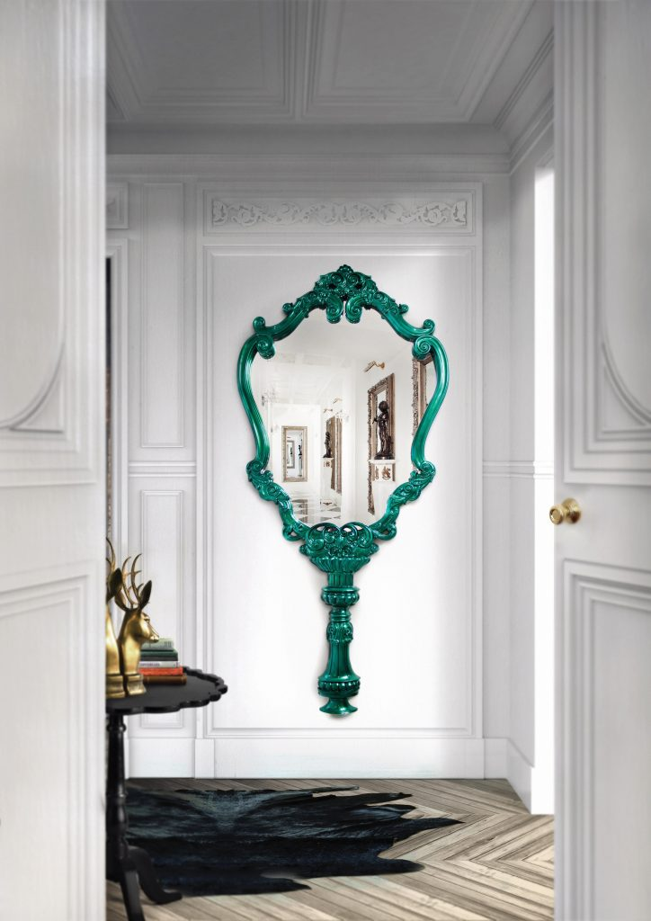 Bedroom Design Colour Trends For 2021's Summer Season bedroom design Bedroom Design Colour Trends For 2021's Summer Season marie therese mirror limited edition boca do lobo 00 724x1024