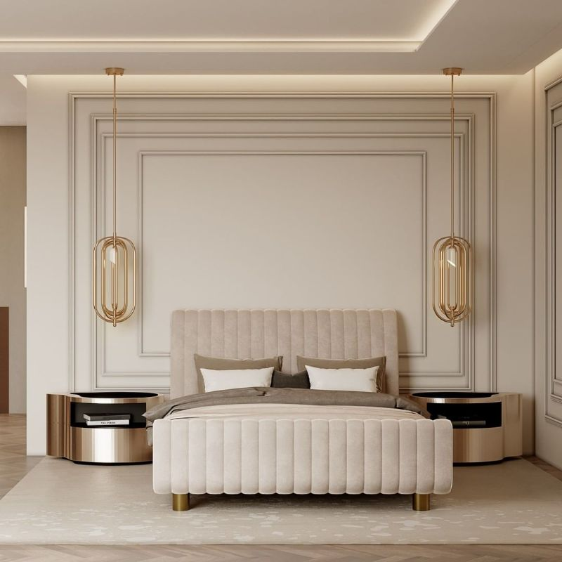 Neutral Master Bedroom Design For Your Luxury Home